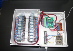 LED display – Time Tunnel with RF remote control