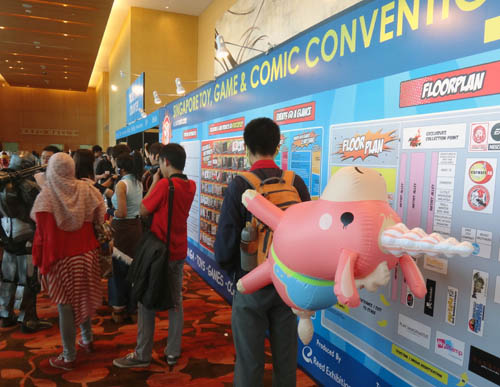 Balloonicorn spotted at the STGCC 2012