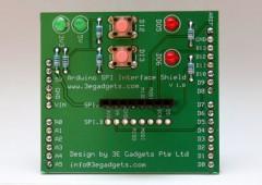Arduino SPI Interface Shield