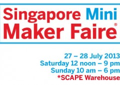 We are Makers @ Singapore Mini Maker Faire 2013
