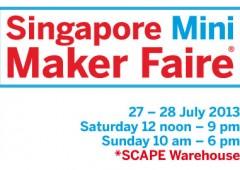 We are Makers @ Singapore Mini Maker Faire 2013