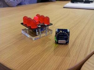 Tinyduino and Electronic Dice