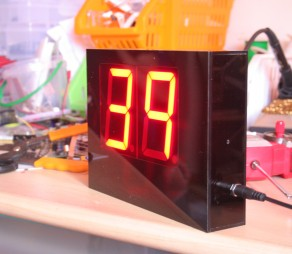 Customize 1 minute count down LED display